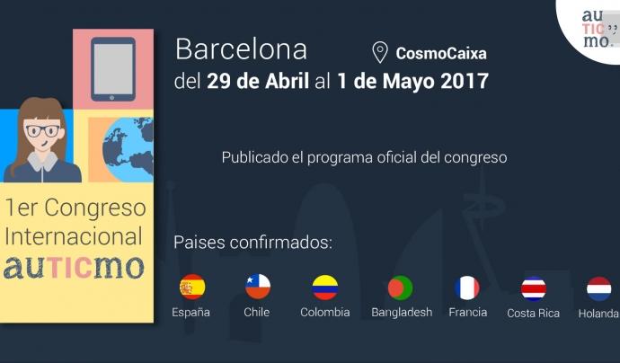 El 1r. Congrés Internacional de Tecnologia i Autisme, a Barcelona Font: auTICmo