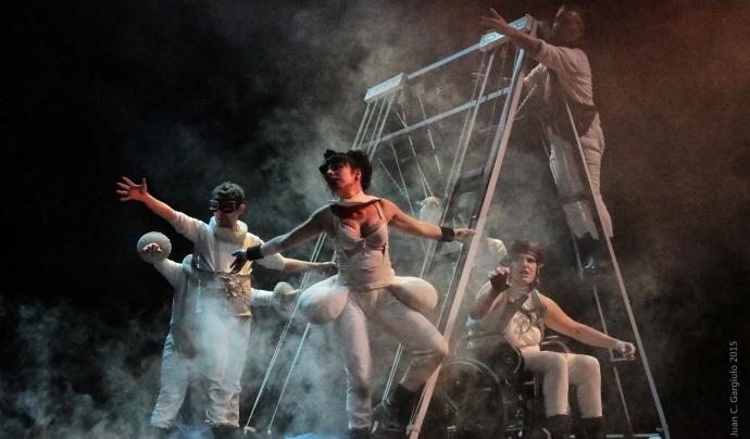Imatge d'una de les representacions escèniques del festival Font: Teatral.net