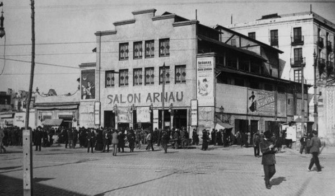Foto d'arxiu del teatre Arnau