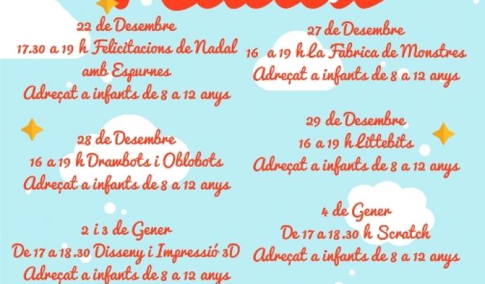 Cartell del Tecno Nadal de Sant Feliu de Llobregat