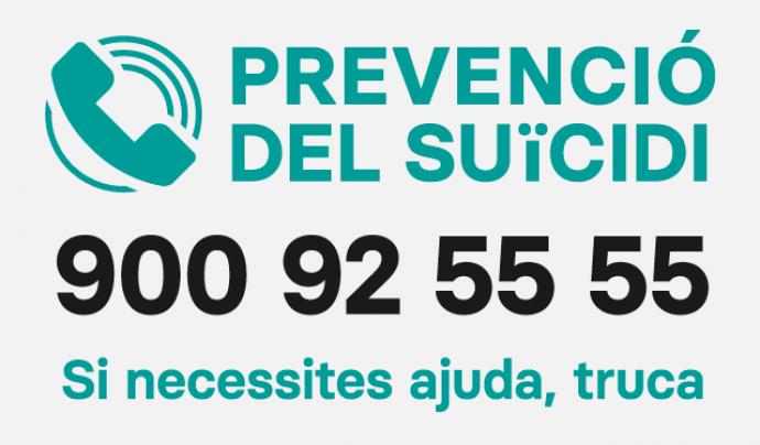 L'Ajuntament de Barcelona, amb la Fundació Ajuda i Esperança, ha posat en marxa el telèfon. Font: Ajuntament de Barcelona