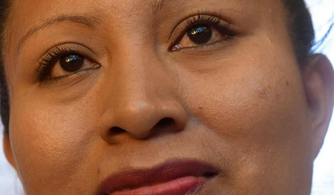 Teodora Vásquez, activista salvadorenca pels drets humans i de les dones Font: Huacal_ong