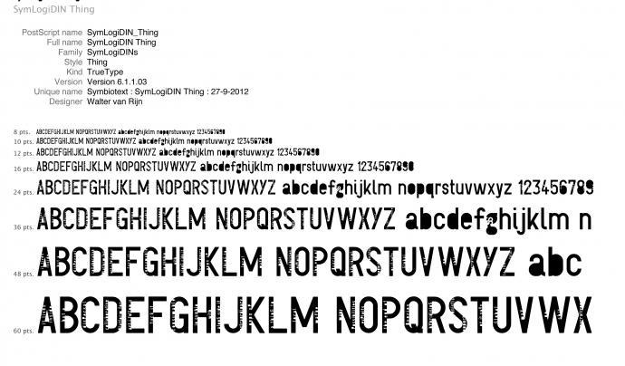 a The Font Library podreu trobar moltes tipografies de programari lliure.