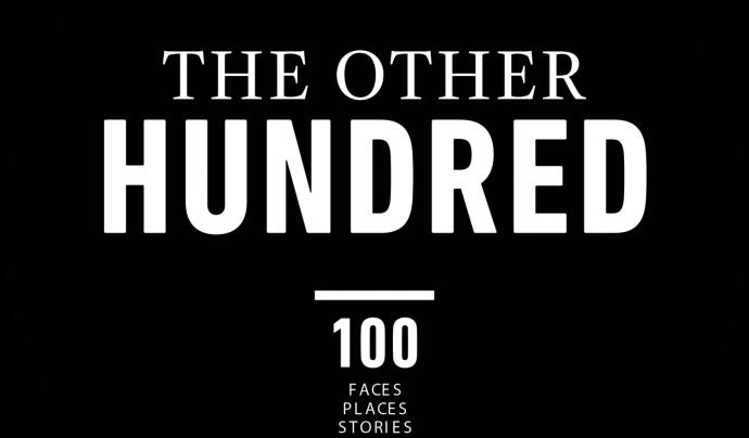 Imatge que apareix a les portades Font: Els altres cent