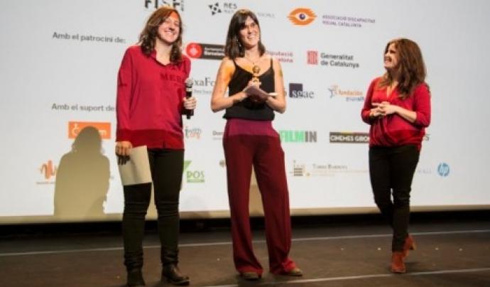 Adriana Pérez i Marta Muga, directores del Festival Inclús. Font: Inclús
