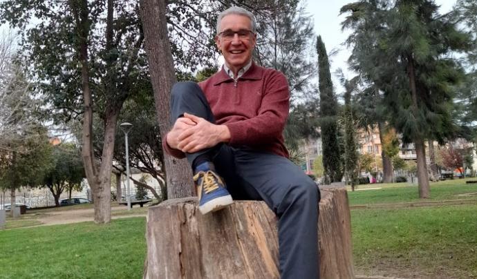 Tomàs Padrosa és el president de l'associació Hàbitats Font: Associació Hàbitats