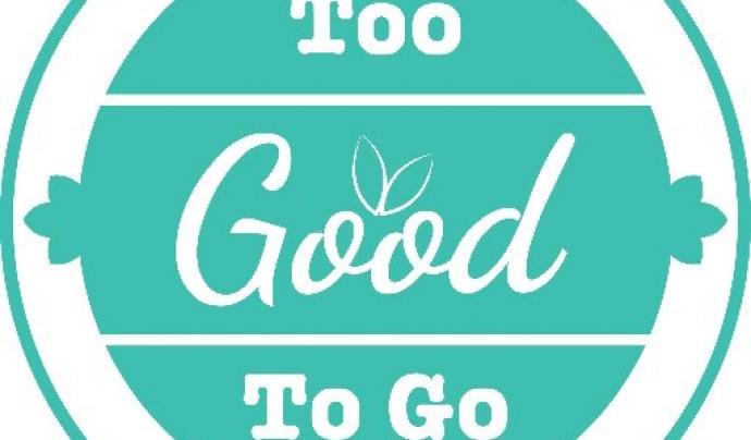 Logo de l'aplicació Too Good To Go. Font: Twitter