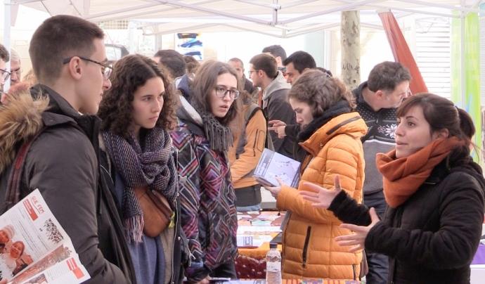L'edició de 2018 es va fer al barri del Raval de Barcelona Font: Lafede.cat