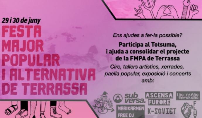 A la FMAP participen diversos col·lectius de Terrassa