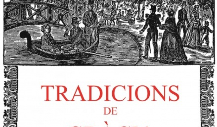 """Reedició """"Tradicions de Gràcia"""", de Joan Amades (2016)."""