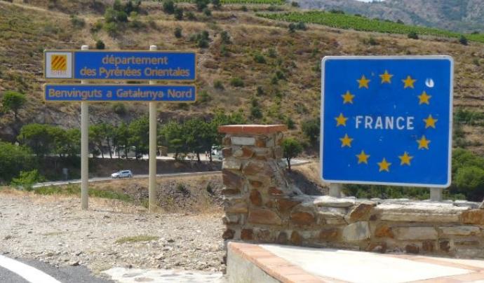 Frontera Catalunya - França Font: Wikipedia