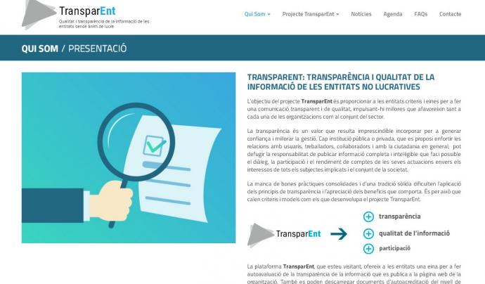 Imatge del portal TransparEnt. Font: Transpar-ent.info/