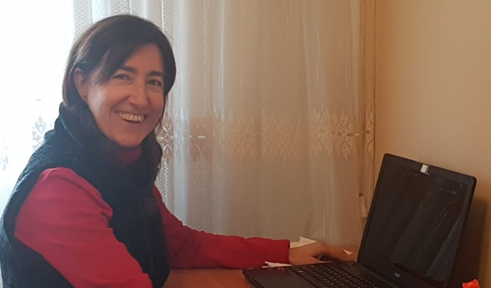 Beatriz Silva és la presidenta de la Federació Catalana de Malalts de Ronyó i l'Associació de Malalts de Ronyó. Font: Beatriz Silva. Font: Font: Beatriz Silva.