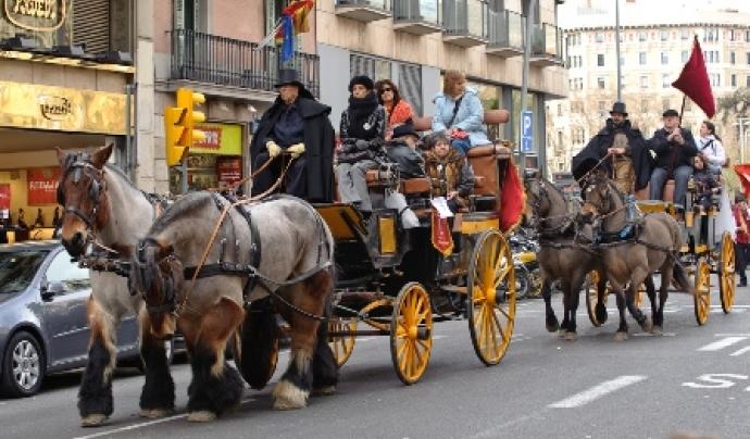 El cicle festiu de Sant Antoni es celebra als barris de Sant Antoni, Sant Andreu de Palomar, Gràcia i el Clot.