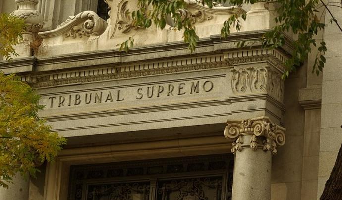 El judici s'està duent a terme al Tribunal Supremo Font: Concepción Amat
