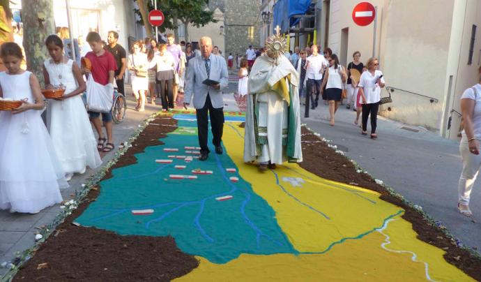 El Corpus és un dels esdeveniments considerats com a parimoni cultural i immaterial Font: Ajuntament de Cabrils