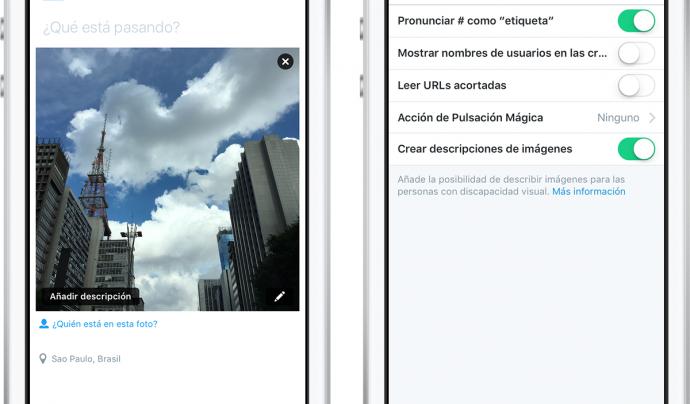 Aquesta millora de Twitter serà molt útil per a les persones amb diversitat funcional visual.