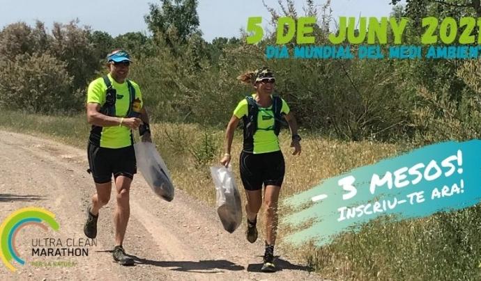 L'Ultra Clean Marathon se celebrarà el 5 de juny, dia mundial del medi ambient. Font: Ultra Clean Marathon