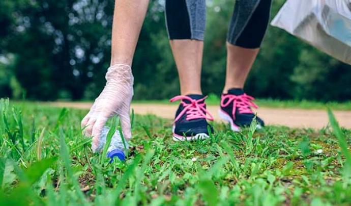 Cada dia apareixen noves propostes de 'plogging' arreu del territori. Font: Ultra Clean Marathon