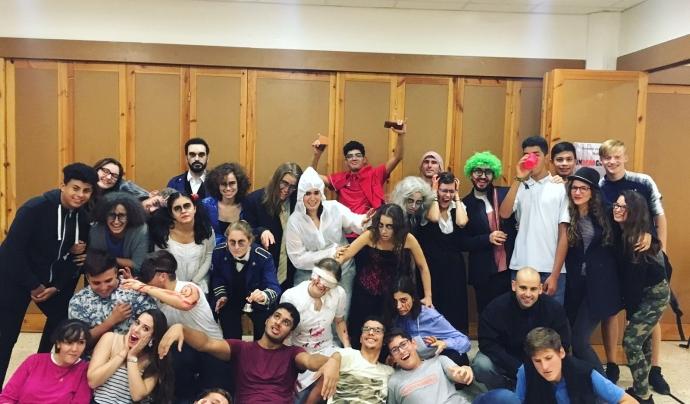 Persones disfressades de Fundació La Vinya Font: Fundació La Vinya