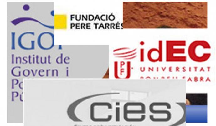 Logotips de diferents centres docents