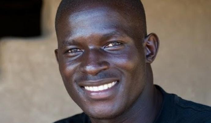 Victor Ochen, defensor dels drets humans a Uganda. Font: Ciutats Defensores dels Drets Humans