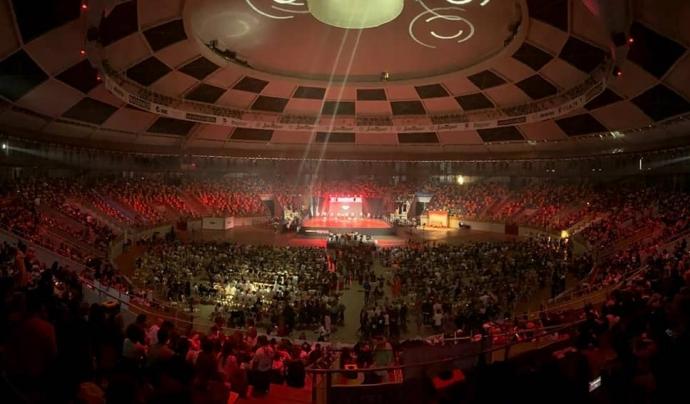 El campionat s'ha celebrat al Tarraco Arena amb un assistència superior a les 5.000 persones. Font: Urban Display. Font: Font: Urban Display.
