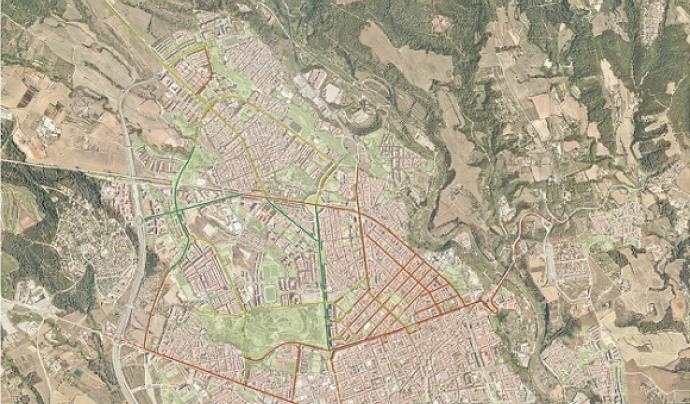 Mapa col·laboratiu de la biodivesitat del nord de Sabadell Font: ADENC