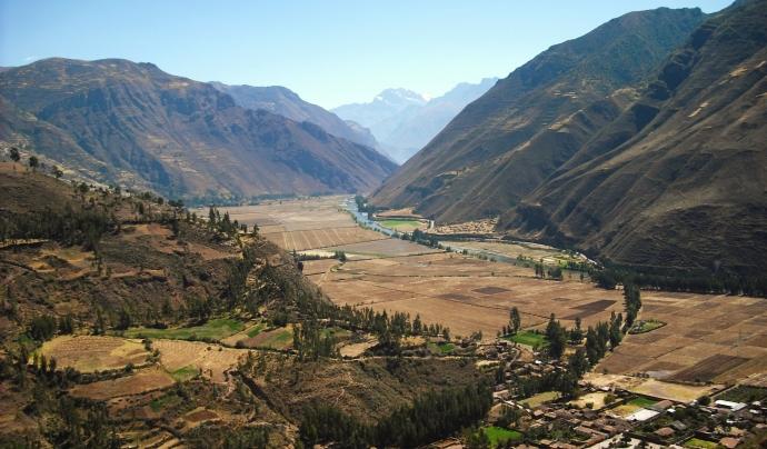 Vall on es realitza la col·laboració. Font: Wikimedia.org