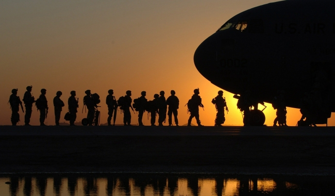La resposta militar d'Espanya a la situació es troba amb l'oposició d'entitats de tot l'estat. Font: CC