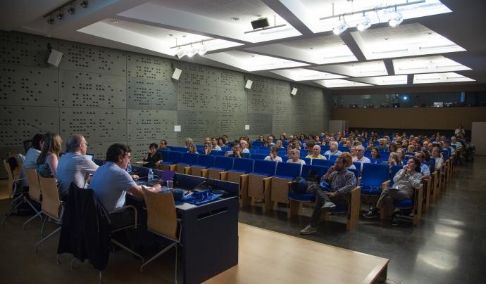 Un moment de l'edició del congrés de 2017 Font: Taula d'entitats del Tercer Sector
