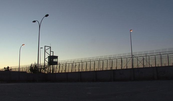 Tanca de Melilla. Font: Wikipedia Font: