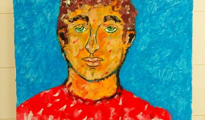 Aquest projecte permet a les persones participants expressar les seves emocions a través de l'art. Font: Salut Mental Catalunya Anoia
