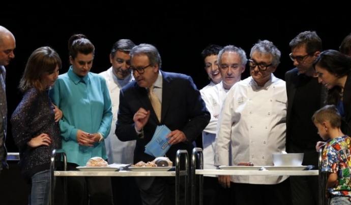 """Ferran Adrià, Carme Ruscalleda, Christian Escribà i Joan Roca seran els encarregats d'engegar la """"Fàbrica de menjar solidari"""" (Font: atrapalo.com)"""