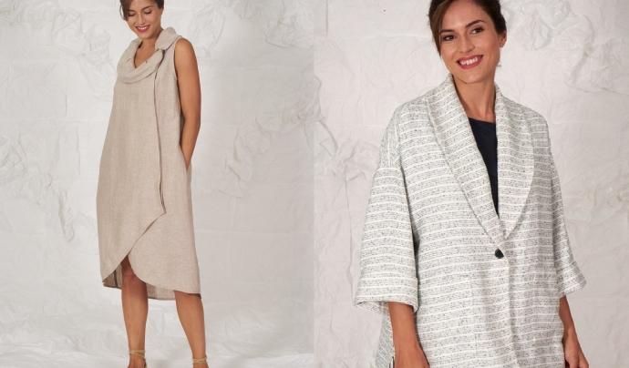 Al 2016, el taller va començar a dissenyar i confeccionar roba de dona. Font: Dona Kolors. Font: Font: Dona Kolors.