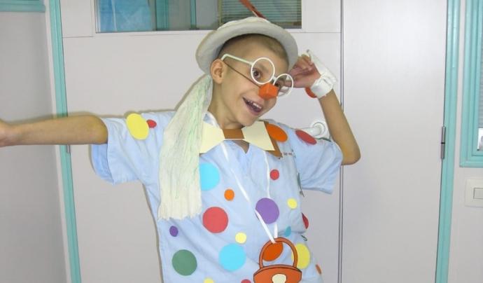 Als 9 anys, en Víctor va patir una leucèmia mieloblàstica. Font: Victor Gonzalez. Font: Font: Victor Gonzalez.