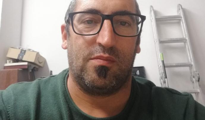Manolo Juárez es el president de l'Associació de Veïns del barri de Sales, a Viladecans. Font: Associació de Veïns del Barri de Sales de Viladecans