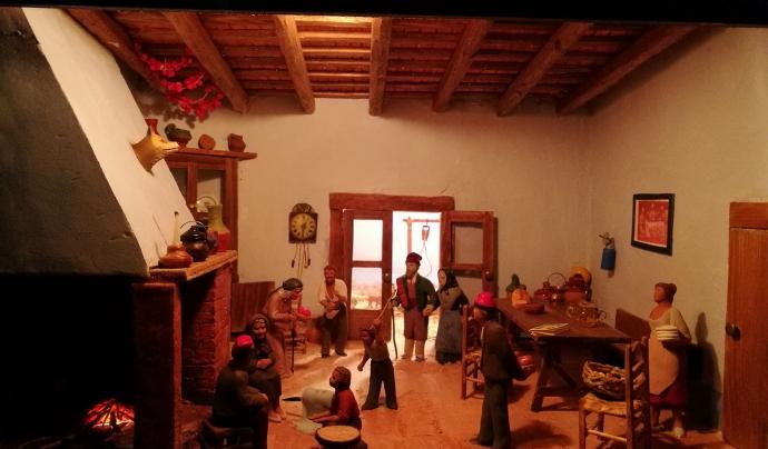 Moltes exposicions de pessebres no han pogut obrir aquest Nadal.  Font: Associació Pessebrista de Vilanova i la Geltrú