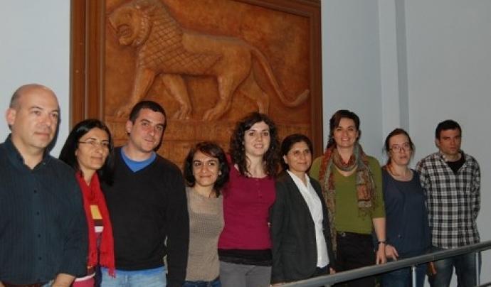 Membres del CIEMEN visiten el Kurdistan