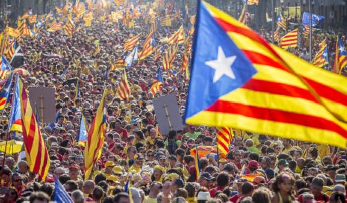 L'ANC convocarà una protesta centralitzada a Barcelona. Font: Vilaweb