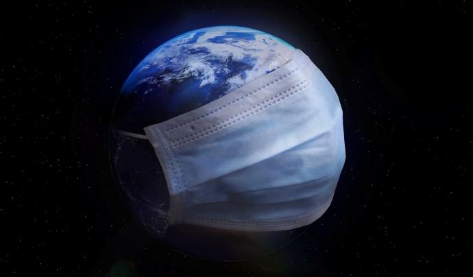 Les mascaretes d'un sol ús contaminen el planeta.  Font: CC