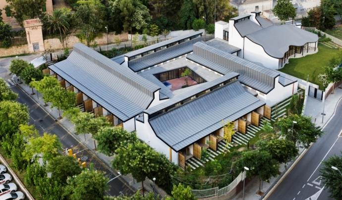 La Casa dels Xuklis és un projecte de l'AFANOC. Font: Enric Duch