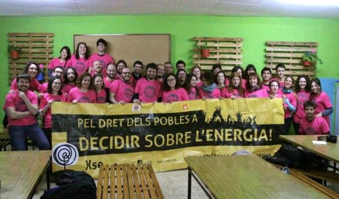 Membres de la Xarxa per la Sobirania Energètica. Font: XSE