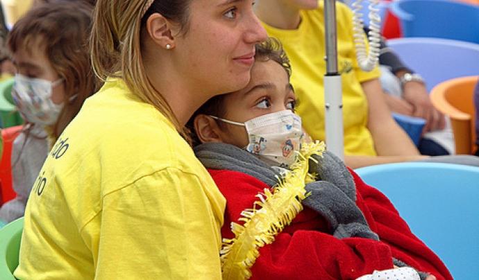 Voluntariat oncològic. Font: Imagen en acción (Flickr)