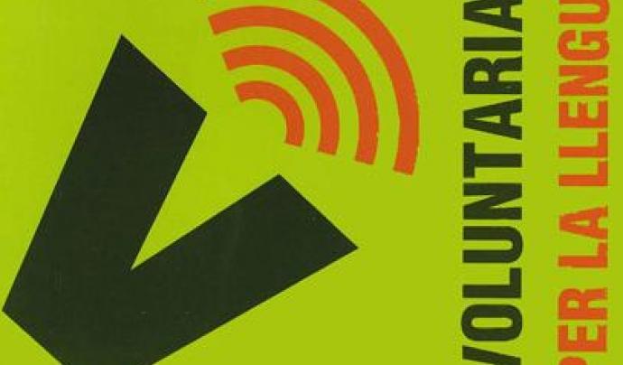 """Logotip del programa de la Generalitat """"Voluntariat per la llengua"""". Font: VPLL"""