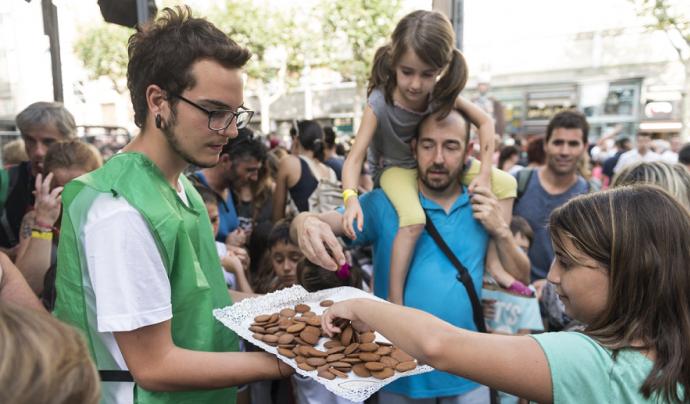 Es pot col·laborar en una vintena d'actes fent diverses tasques Font: Ajuntament de Mataró