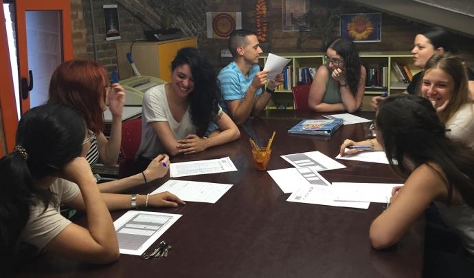 Equip de voluntaris i voluntàries Font: Fundació Social del Raval