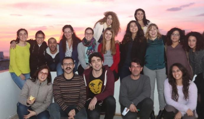 Imatge de l'edició 2016 de la formació EuroMed 'Volunteering for Peace' organitzada per la Fundació Catalunya Voluntària. Font: Fundació Catalunya Voluntària