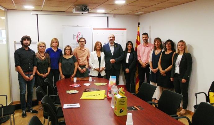 L'acord de col·laboració beneficia tant el programa VxL com l'APPEC Font: Generalitat de Catalunya