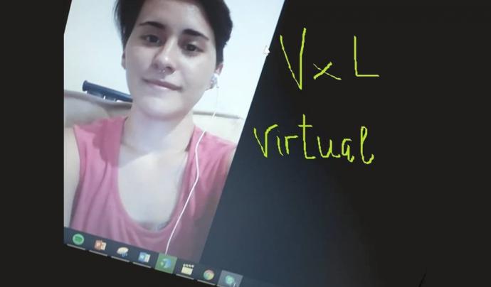 Amb VxL virtual no importa on et trobis per fer petar la xerrada. Font: VxL
